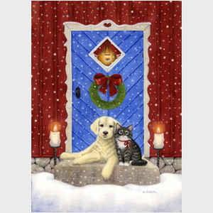 Jessica Jessica Bolander A Kitten and Puppy Christmas