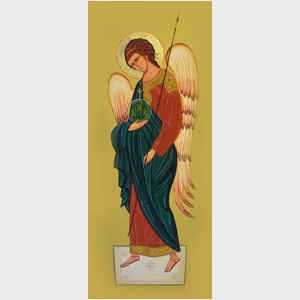 Angel Icon I, full length