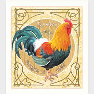 Rosiland Rosiland Solomon Art Nouveau Roosters