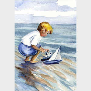 Boy with Boat