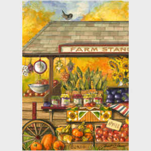 Bucks County Farm Stand - vertical