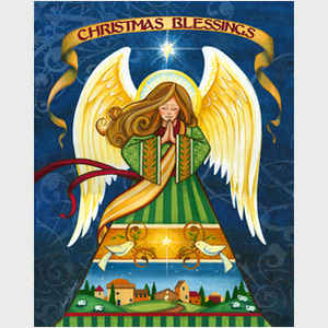Christmas Blessings Angel