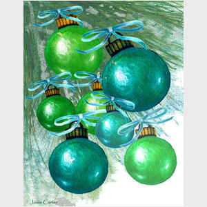 Christmas Ornaments I