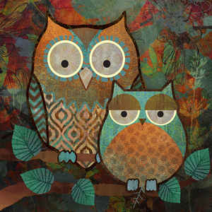 Decorative Owls II