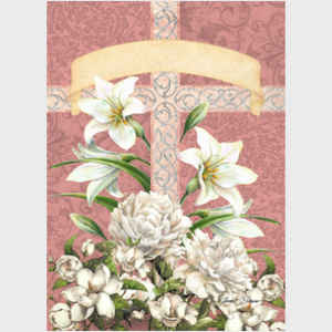 Easter Blessing Cross - Rose