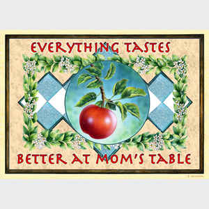 Everything Tastes Better at Mom's Table