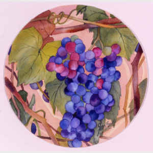 Grapes - round