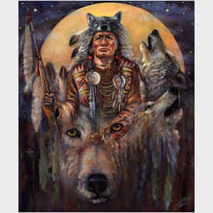 Invoking the Wolf Spirit