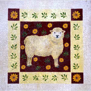 Lamb in Flowers