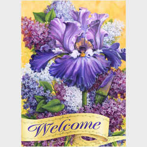 Lilac Blossom Welcome