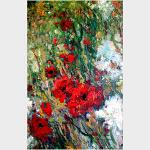 Monet's Garden Poppies