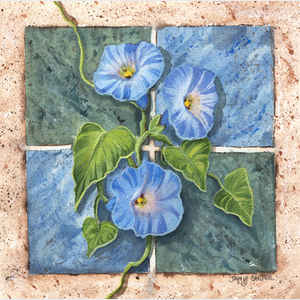 Morning Glory Tile