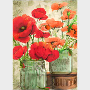 Summer Poppy Bouquets