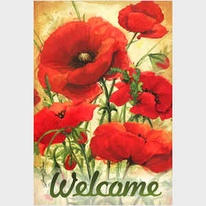 Poppy Field Welcome