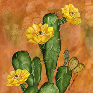 Prickly Pear Tile