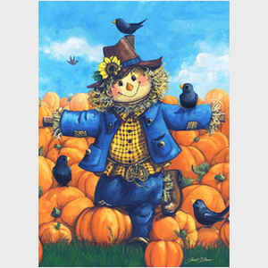 Pumpkin Patch Scarecrow
