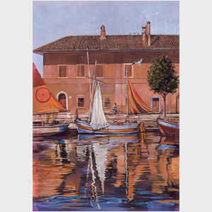 Sailboats on the Canal