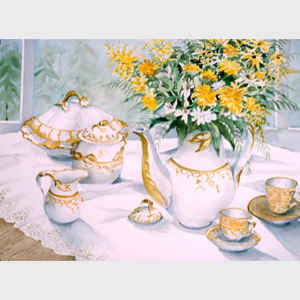 Still Life in Gold