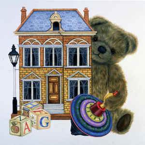 Teddy Dollhouse