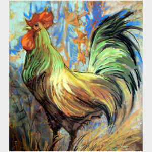 The Gentle Rooster