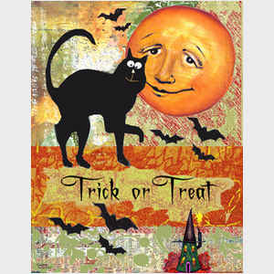Trick or Treat Moon