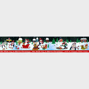 We Wish You a Merry Playful Christmas banner