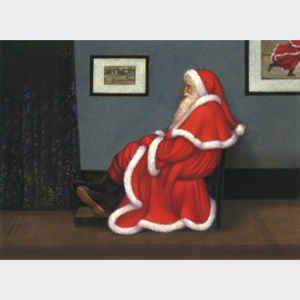 Whistler's Father Christmas